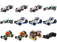 Star Wars Hot Wheels 1:64 Scale Character Car Wave 03 - Case of 12