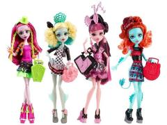 Monster High Monster Exchange Series 01 - Set of 4