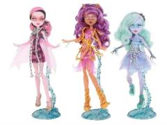 Monster High Haunted Getting Ghostly Series 01 - Set of 3
