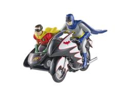 Hot Wheels Elite Cult Classic 1:12 Classic TV Batcycle with Figures
