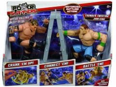 WWE Power Slammers Starter 2 Pack Series 01 - John Cena & Randy Orton