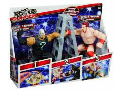 WWE Power Slammers Starter 2 Pack Series 01 - Sheamus & Rey Mysterio