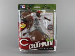 MLB Sportspicks Series 32 - Aroldis Chapman (Cincinnati Reds Grey Jersey) Collector Level