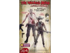 The Walking Dead Comic Carl & Abraham Two Pack PX Previews Exclusive