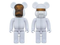 Daft Punk Bearbrick Two Pack - White Suits
