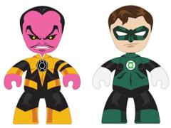 DC Mini Mez-Itz Two-Packs Series 01 - Green Lantern Hal Jordan & Sinestro