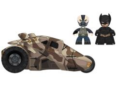 "The Dark Knight Rises 2"" Mini Mez-Itz - Bane & Battle-Damaged Batman with Tumbler Previews Exclusive"
