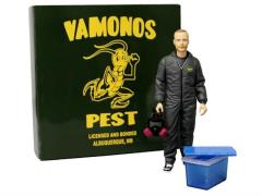"Breaking Bad 6"" Jesse Pinkman - Vamonos Pest Black Hazmat Suit Exclusive"
