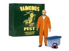 "Breaking Bad 6"" Jesse Pinkman - Vamonos Pest Orange Hazmat Suit Exclusive"
