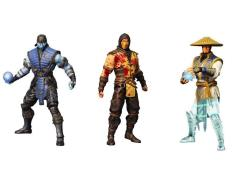 "Mortal Kombat X 6"" Figure Series 01 - Set of 3 Variant PX Previews Exclusive"