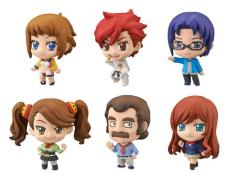 Gundam Petit Chara Gundam Build Fighters Try 1 Box of 6 Figures