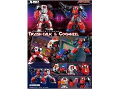 Manga Mech Series MM-01 Trash-Talk & Cogwheel Set