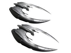BSG Cylon Raider 1/72 Scale Model Kit Two Pack