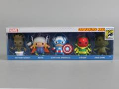 Marvel Collectors Keyring Five Pack SDCC 2015 Exclusive