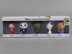Disney Collectors Keyring Five Pack SDCC 2015 Exclusive