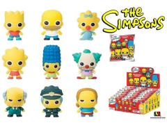 The Simpsons Laser Cut Foam Figure Key Ring Series 01 - Random Blind Single