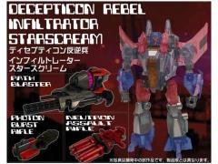 Transformers Generations 2013 Volume 01 - Exclusive Infiltrator Starscream