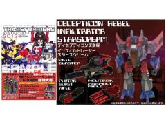 Transformers Generations 2013 Volume 01 - Exclusive Infiltrator Starscream & Book