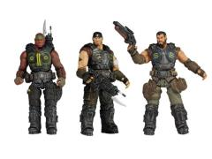 "Gears of War 3.75"" Figure Series 02 - Set of 3"