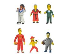 "The Simpsons 25th Anniversary - 5"" Celebrity Guest Stars Action Figure - Series 01 - Case of 20"