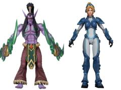 Heroes of The Storm Series 01 Set of 2 Figures (Illidan Stormrage & Nova Terra)