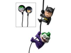DC Comics Scalers Earbuds Batman & Joker