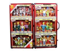 The Simpsons 25th Anniversary Limited Edition Mega Bendable Set