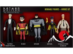 "The New Batman Adventures 5.50"" Bendable Figure Five Pack"
