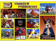 Transformers 30th Anniversary Classic Sticker Set - Optimus Prime