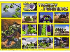 Transformers 30th Anniversary Classic Sticker Set - Constructicon