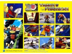 Transformers 30th Anniversary Classic Sticker Set - Omega