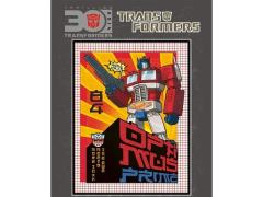 Transformers 30th Anniversary Sticker - Optimus Prime A