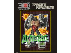 Transformers 30th Anniversary Sticker - Grimlock