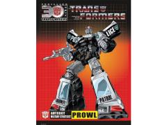 Transformers 30th Anniversary Sticker - Prowl