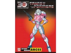 Transformers 30th Anniversary Sticker - Arcee
