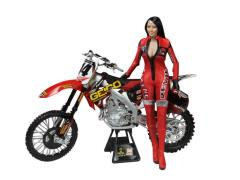 1/6 Scale Racing Girl Figure - Red