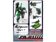PA-01 Super Tank Weapon Set