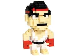 Street Fighter Pixel Brick - Ryu