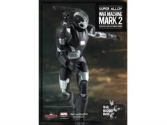 Super Alloy 1/12 Scale Iron Man War Machine Mark 2