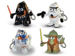 "Star Wars Mr. Potato Head 2"" Keychain - Set of 4"