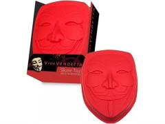 V For Vendetta Mask Silicone Baking Tray