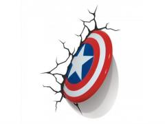 Marvel Comics 3D LED Wall Decal - Captain America Shield