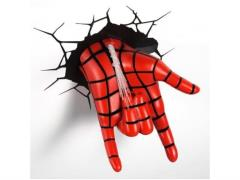 Marvel Comics 3D LED Wall Decal - Spider-Man Hand