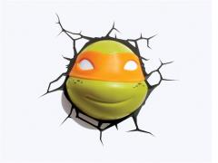 TMNT 3D Deco Light - Michelangelo