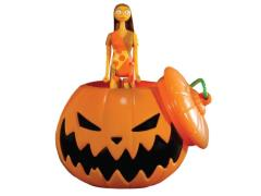 The Nightmare Before Christmas ReAction Retro Action Figure Sally in Pumpkin Ornament SDCC 2015 Exclusive