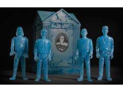 Universal Monsters ReAction Blue Glow Action Figure Set with Crypt SDCC 2015 Exclusive