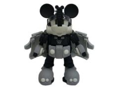 Mickey Mouse Transformer - Black & White Version