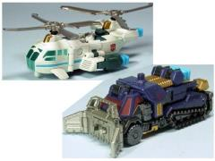 Transformers United EX Roller Master Vs. Chopper Master