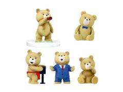 Ted Memorial Figure Collection Bag of 40 Figures