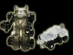 Transformers Exclusive Clear Micron Campaign - Silver Roller